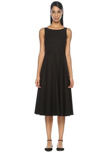 Beymen Club Arkası Şifon Bağlamalı Elbise